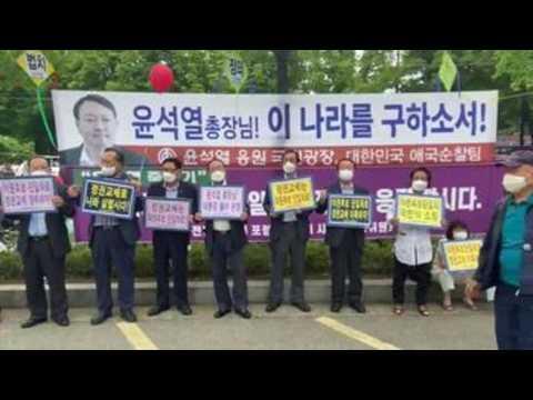 South Korean former chief prosecutor Yoon Seok-youl announces presidential bid