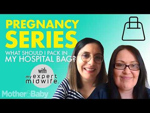 Pregnancy Series: What to pack in your hospital bag with My Expert Midwife