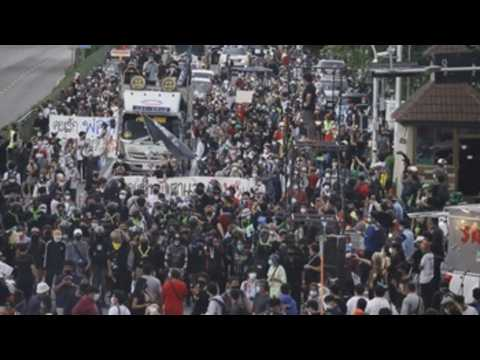 Protests against the Thai government continue in Bangkok