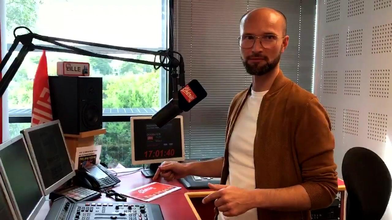 Rencontre avec Stéphane Sloma, la voix de Chérie FM Nord