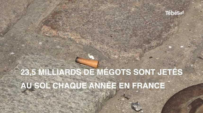 Thumbnail Cigarettes : 23,5 milliards de mégots jetés au sol chaque année en France