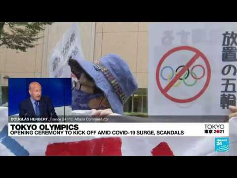 Tokyo daily Covid-19 cases total 1,359  as the Olympic Games kick off