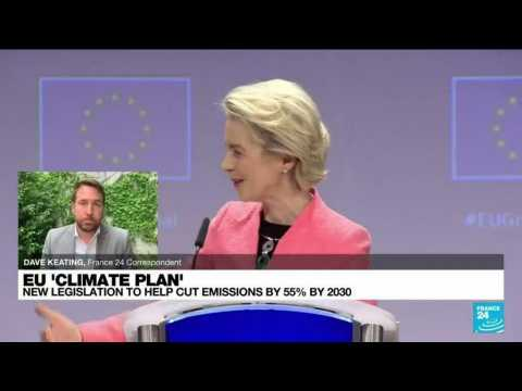 EU Climate plan: new legislation to help cut emissions by 55% by 2030