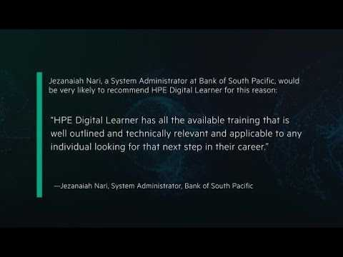 HPE Digital Learner- Client Satisfaction Rating