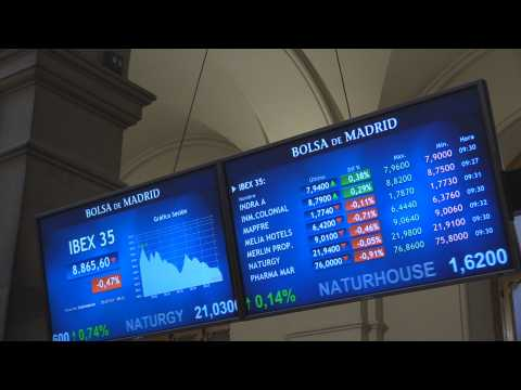 Spain's Ibex 35 falls 0.35% after opening and loses 8,900 points