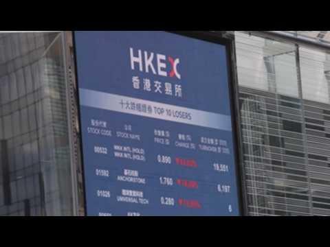 Hong Kong's Hang Seng closes with sharp losses