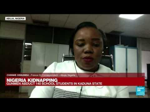 Gunmen kidnap 140 school students in northwest Nigeria