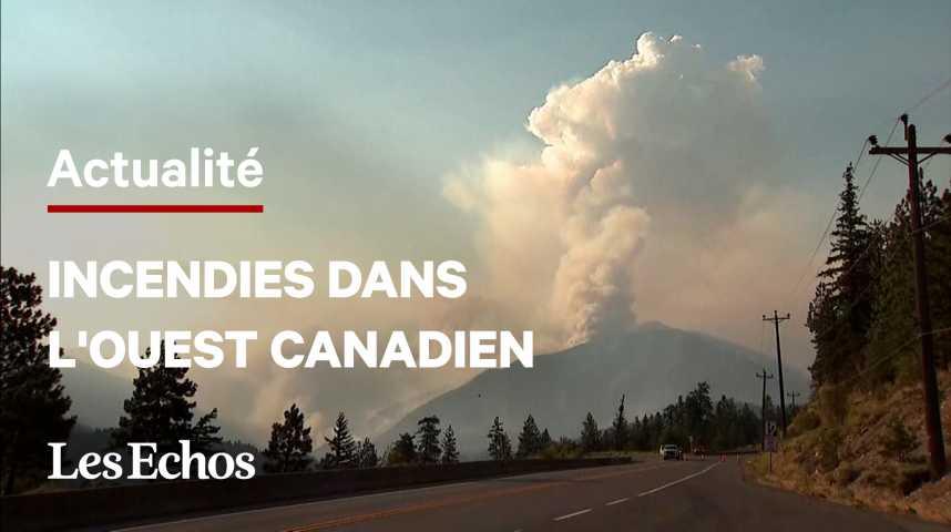 Illustration pour la vidéo L'ouest canadien frappé par des incendies, l'armée apporte son renfort