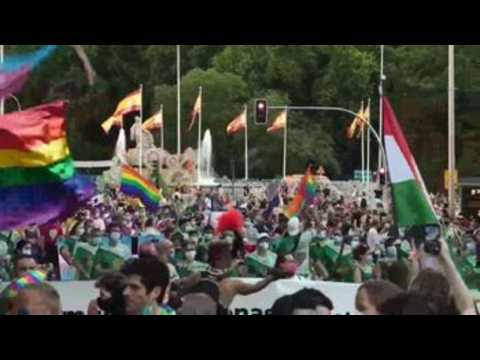 Madrid brings back Pride parade after COVID-19 cancellation last year