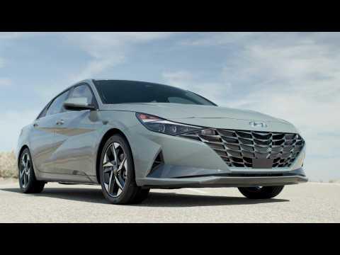 2022 Hyundai Elantra Hybrid Exterior Design