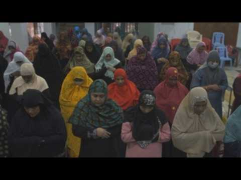 Muslim devotees in Indian city of Chennai mark Eid al-Adha with mass prayers