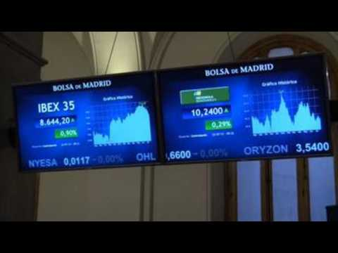 Spanish stock market rises 0.64% and recovers 8,600 points after ECB meeting