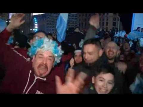 Buenos Aires celebrates Copa America victory