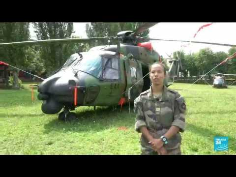 Army's helicopter crews prepare Bastille Day celebrations