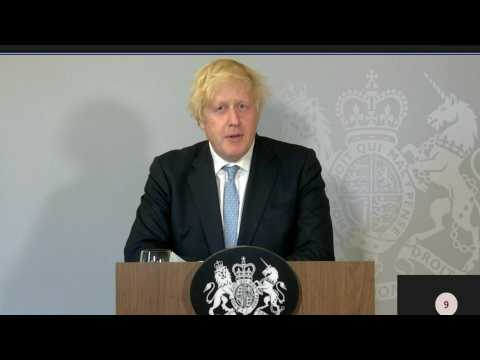 """British PM asks """"if not now, when?"""" on """"Freedom day"""" in England"""