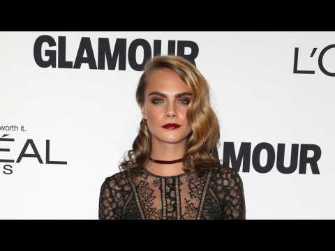 Cara Delevingne Shaves Head for New Film