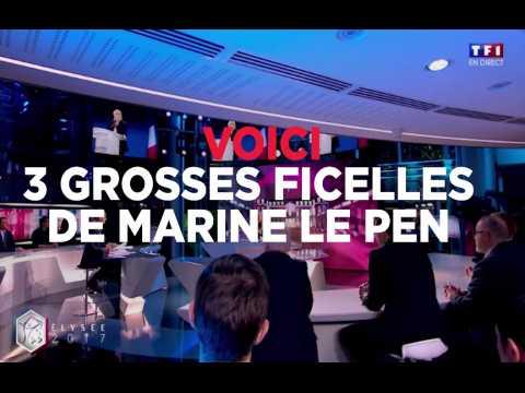 """Les 3 grosses ficelles de Marine Le Pen dans """"Elysée 2017"""""""
