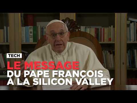 Le pape François en conférence Ted depuis le Vatican
