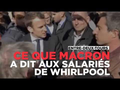 Macron à Whirlpool : revivez son dialogue avec les salariés, après les sifflets