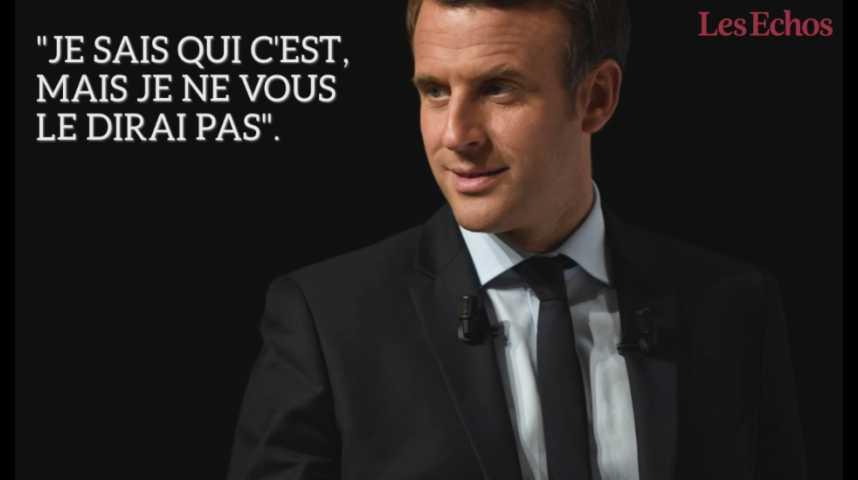Illustration pour la vidéo Emmanuel Macron a déjà choisi son Premier ministre