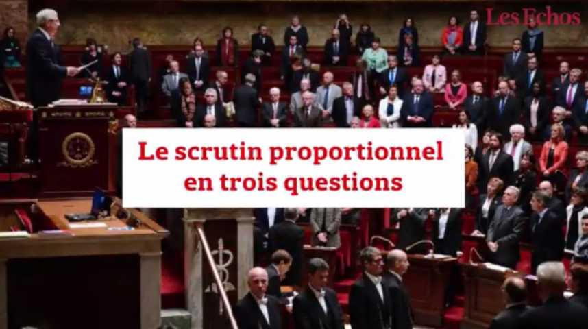 Illustration pour la vidéo Le scrutin proportionnel en trois questions