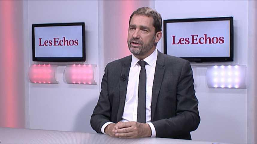 Illustration pour la vidéo «Pas de privilège accordé à Manuel Valls», répond Christophe Castaner (En Marche)