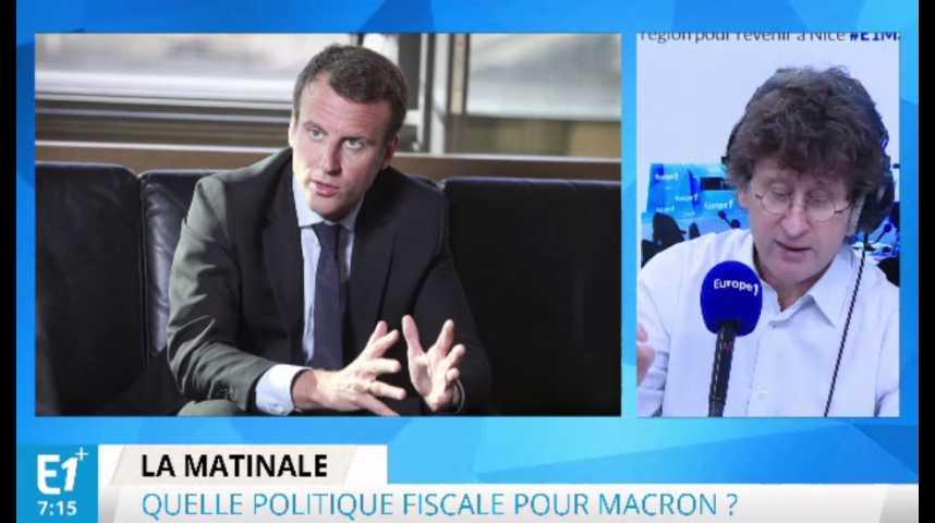 Illustration pour la vidéo Impôts, cotisations sociales... Ce qu'Emmanuel Macron veut rapidement réformer