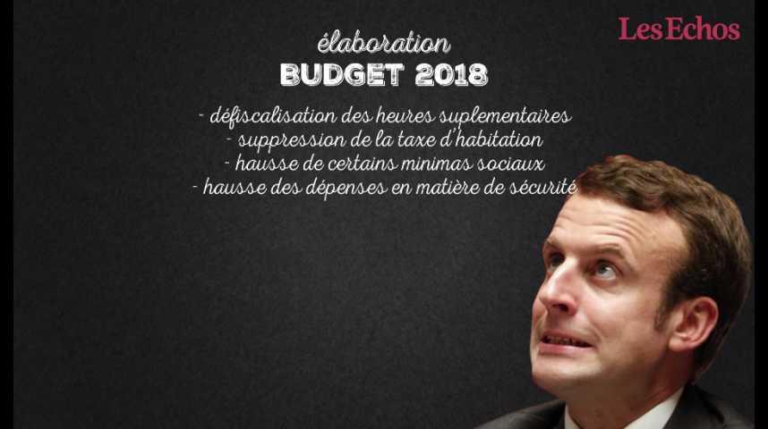 Illustration pour la vidéo Emmanuel Macron et le casse-tête budgétaire