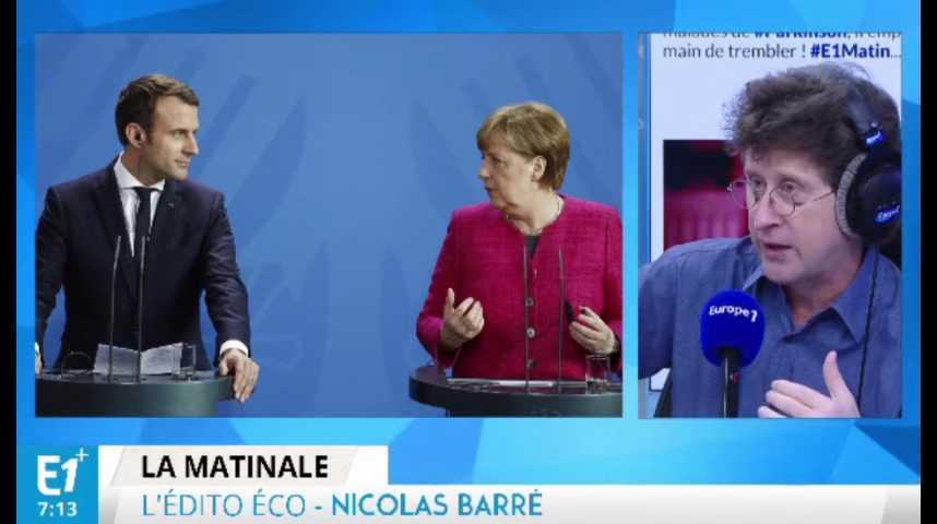 Illustration pour la vidéo Angela Merkel ouverte à la discussion avec Emmanuel Macron
