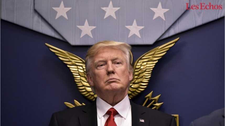 Illustration pour la vidéo Trump accusé d'avoir divulgué des informations classifiées à la Russie