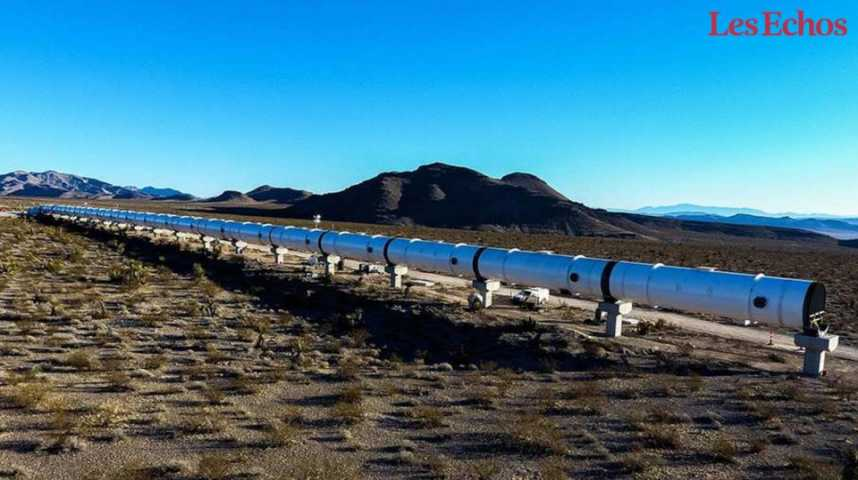Illustration pour la vidéo Hyperloop, le rêve bientôt réalité ?