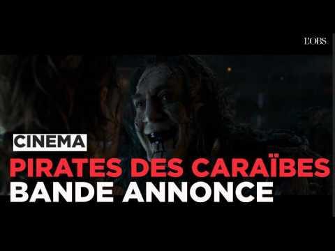 Pirates des Caraïbes 5, la bande annonce