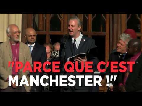 Attentat de Manchester : l'hommage bouleversant du poète Tony Walsh