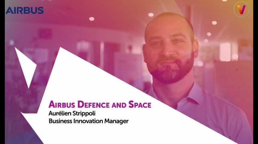 Illustration pour la vidéo Viva Technology - Airbus présente les acteurs de sa démarche d'open innovation