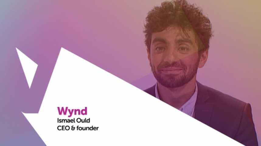 Illustration pour la vidéo Viva Technology - Carrefour présente Wynd, la startup qui digitalise les points de vente
