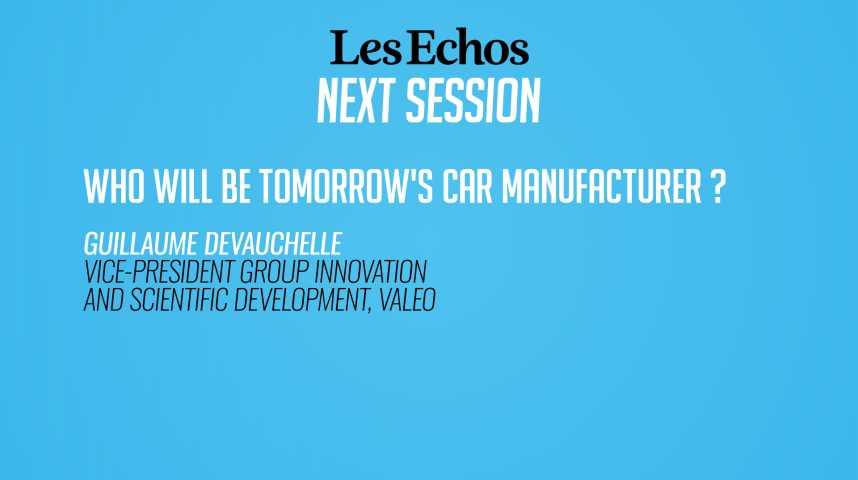 Illustration pour la vidéo Qui construira la voiture de demain ?