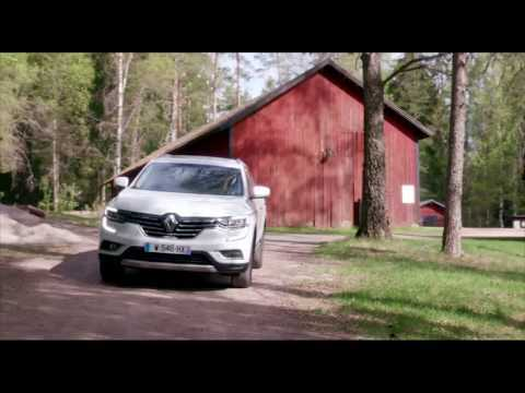 2017 New Renault KOLEOS Initiale Paris - Driving Video | AutoMotoTV