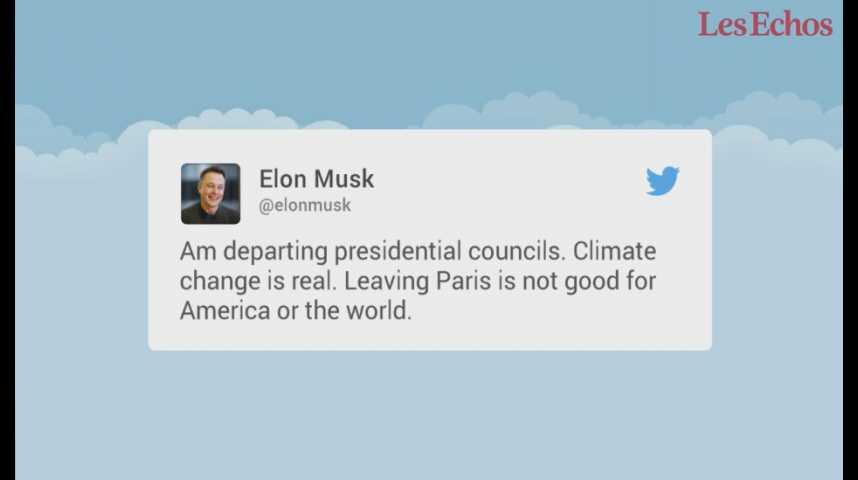 Illustration pour la vidéo La décision de Trump sur l'accord de Paris suscite stupeur et consternation partout dans le monde