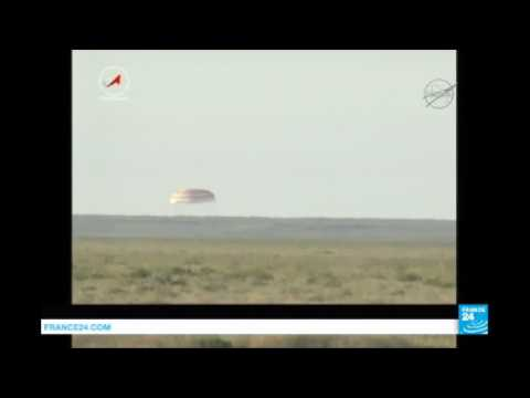 French Astronaut Thomas Pesquet returns to earth, land in Kazakhstan