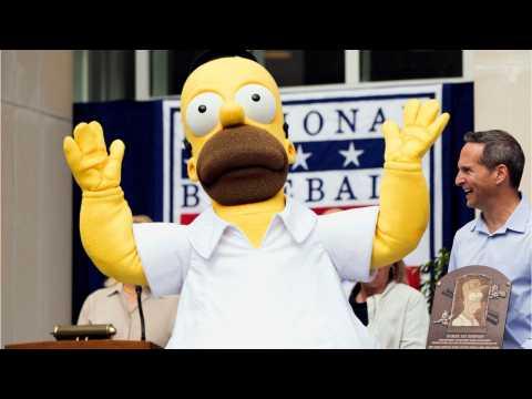 Homer Finally Had His Day As 'The Simpsons' Made Baseball History