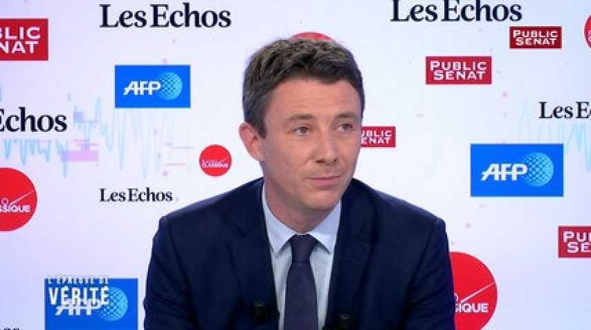 Illustration pour la vidéo Benjamin Griveaux : « François Baroin ferait mieux de parler aux Français plutôt qu'à son parti »