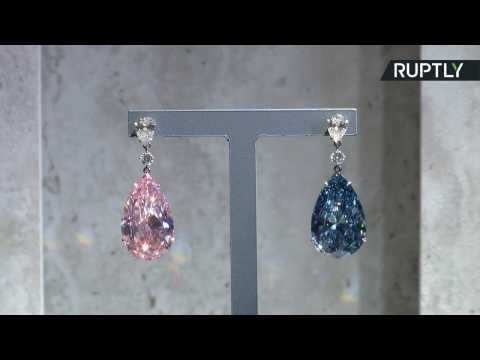 'Most Valuable Earrings Ever' Set to Fetch Up To $70 Million at Auction