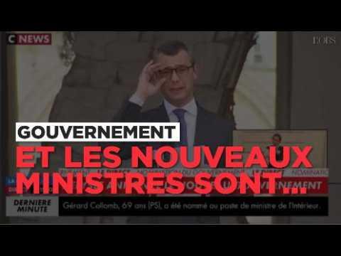 L'annonce de la nomination des ministres du premier gouvernement de l'ère Macron