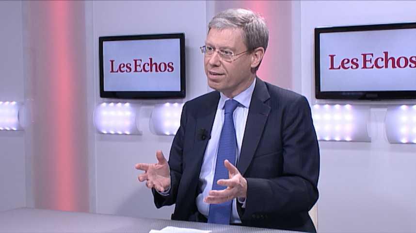 """Illustration pour la vidéo """"Le paysage économique n'a jamais été aussi bon depuis huit ans"""" (Jean Beunardeau, DG France de HSBC)"""