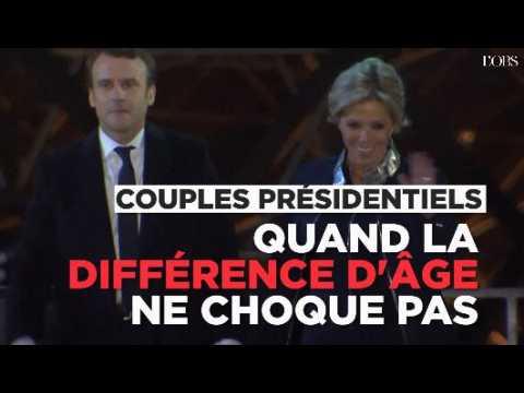 Couples présidentiels : quand la différence d'âge ne choque que dans un sens