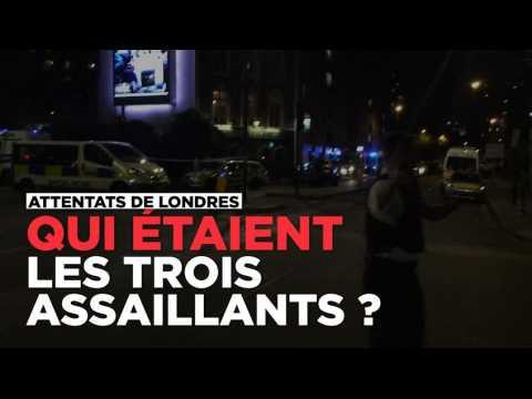 Qui étaient les trois assaillants de l'attentat de Londres ?