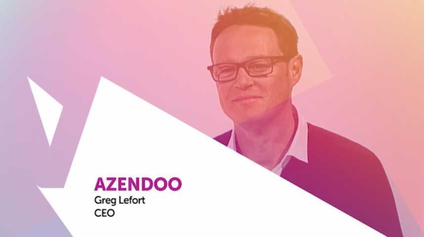 Illustration pour la vidéo Viva Technology - Cisco a intégré la solution de la startup Azendoo dans les technologies et offres proposées à ses clients
