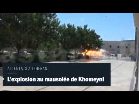 Explosion i teheran
