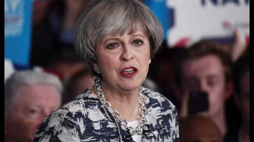 Illustration pour la vidéo Royaume-Uni : Theresa May joue son avenir politique