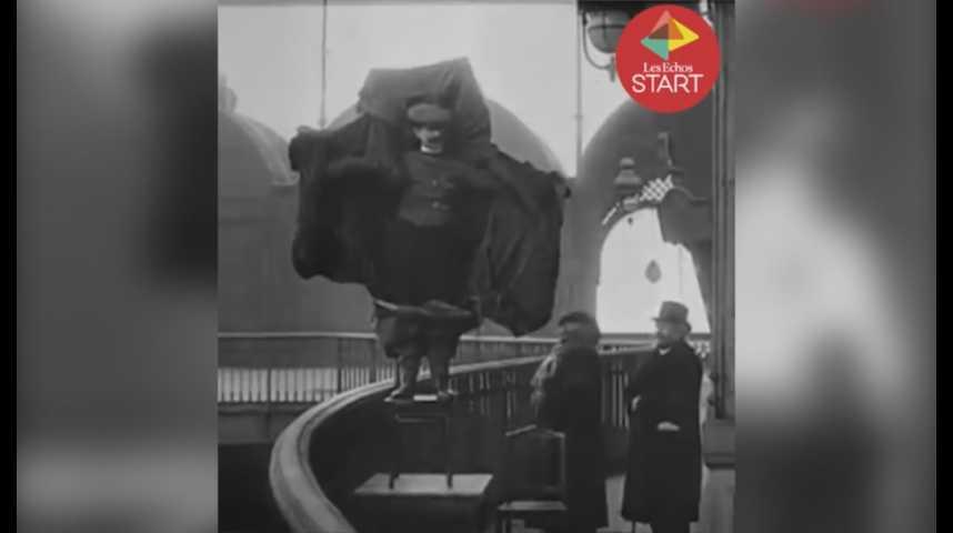 Illustration pour la vidéo Une tyrolienne en haut de la Tour Eiffel ? Retour sur 5 défis qui ont marqué l'histoire de la Dame de Fer